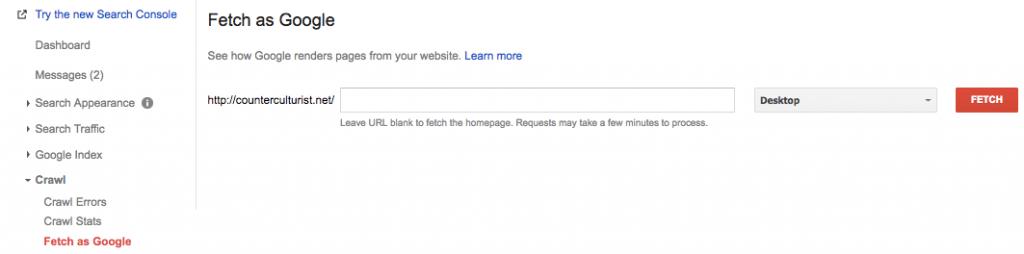 Consejo de SEO WordPress: forzar a google a rastrear contenido nuevo y actualizado